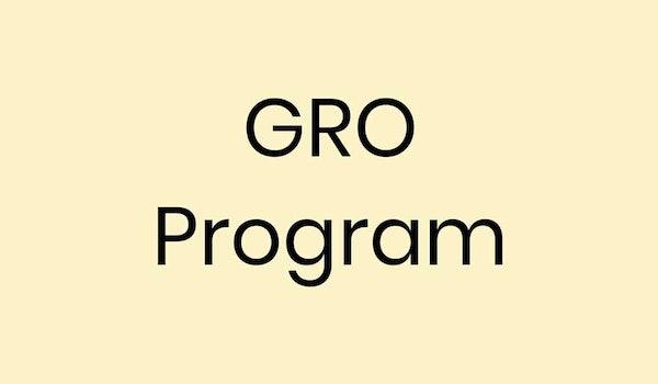 GRO-Program