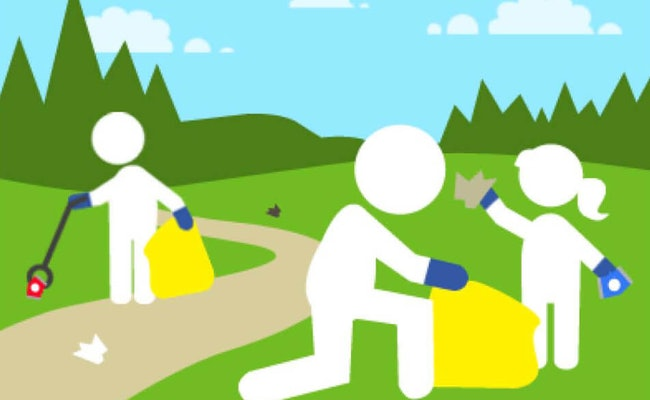 Community-cleanup-litter